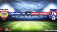 Soi kèo nhà cái Hà Tĩnh vs Quảng Ninh. VTC3. Trực tiếp bóng đá Việt Nam hôm nay