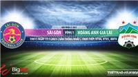 Soi kèo nhà cái Sài Gòn vs HAGL. VTV6. BĐTV. Trực tiếp bóng đá Việt Nam hôm nay