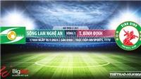 Soi kèo nhà cái SLNA vs Bình Định. VTC3. Trực tiếp bóng đá Việt Nam hôm nay