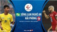 Soi kèo nhà cái SLNA vs Hải Phòng. Trực tiếp bóng đá Việt Nam