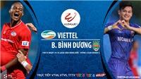 VIDEO: Soi kèo nhà cái. Viettel vs Bình Dương. Trực tiếp bóng đá Việt Nam 2020