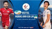Soi kèo bóng đá. Viettel vs HAGL. BĐTV Trực tiếp bóng đá Việt Nam