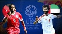 U23 Jordan vs U23 UAE: Sòng phẳng có là điều xa xỉ?