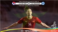 Kèo U22 Việt Nam vs U22 Singapore: Soi kèo SEA Games 30. Trực tiếp bóng đá VTV6, VTV5, VTC1