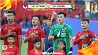 Soi kèo U23 Việt Nam vs U23 Jordan. VCK U23 châu Á 2020. VTV6 trực tiếp