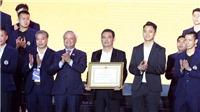 CLB Hà Nội nhận Huân chương Lao động hạng Ba sau một thập kỷ thành công