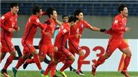 Soi kèo U23 Hàn Quốc vs U23 Trung Quốc. Trực tiếp bóng đá VTV6, VTV5