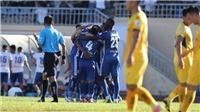 Video bàn thắng Highlight Quảng Nam 2-1 SLNA: Thay tướng đổi vận
