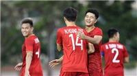U22 Việt Nam đại thắng U22 Brunei, thầy Park và Đức Chinh nói gì?