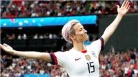 Megan Rapinoe: Những bí mật của cầu thủ nữ xuất sắc nhất thế giới