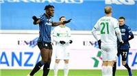 Vòng 15 Serie A: Roma lên thứ ba, Atalanta giải mã Sassuolo