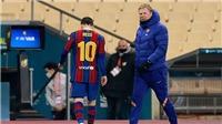 Leo Messi nhận thẻ đỏ: Vị đắng của tình yêu