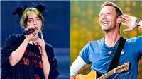 Billie Eilish, Coldplay tham gia đêm nhạc trực tuyến miễn phí