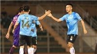 Quang Hải và dàn sao tuyển thủ thua Sài Gòn FC