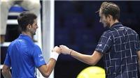 ATP Finals 2020: Medvedev sớm ghi tên mình vào bán kết: Tiếp nối chuỗi ngày vui