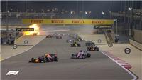 Chặng Bahrain Grand Prix: Xe nổ, Grosjean thoát chết trong gang tấc