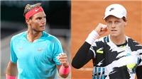 Rafael Nadal vs Jannik Sinner: Thần đồng thách thức hoàng đế?