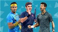 Top 10 tay vợt thắng nhiều trận nhất trong lịch sử: Những cột mốc chờ Big Three