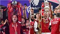 Trực tiếp bóng đá Arsenal vs Liverpool: Quên Messi đi, giờ là Siêu cúp Anh