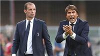 Inter: Conte xây nền, chờ Allegri gặt thành quả