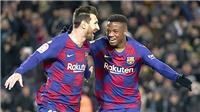 Barcelona: Đến lúc Ansu Fati kế thừa Messi