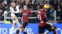 Trực tiếp bóng đá Milan vs Juventus (02h45 ngày 14/2): Khủng hoảng chờ ai?