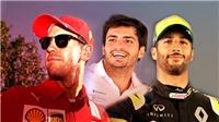 Dịch chuyển nhân sự ở F1: Vettel đi, Sainz đến, Ricciardo chuyển đội
