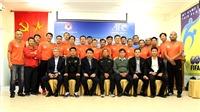 HLV Nguyễn Thành Vinh mong GĐKT người Nhật phát triển đào tạo trẻ