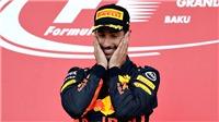 Công thức 1 năm 2017: Và Ricciardo đã chiến thắng như thế…