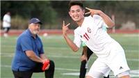 Cầu thủ Việt kiều Keven Nguyễn: Cái duyên bóng đá và bóng bầu dục