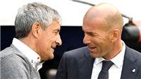 Trực tiếp bóng đá Real Madrid vs Mallorca: Setien, làm ơn, hãy thừa nhận Zidane!