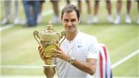 Roger Federer: Sinh ra để dành cho sân cỏ
