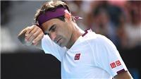Roger Federer bị chấn thương: Thế chân kiềng bị phá vỡ