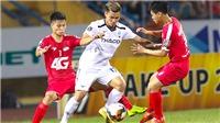 Vòng 2 V League: 'Lửa thử vàng' Hoàng Anh Gia Lai