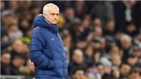 Tottenham sụp đổ nhanh hơn cùng Mourinho