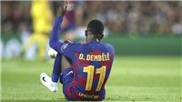 Ousmane Dembele đang là gánh nặng của Barca