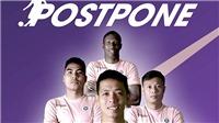 Hà Nội FC và TP.HCM ủng hộ quyết định hoãn trận Siêu Cúp quốc gia