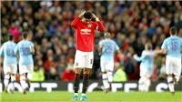 MU 1-3 Man City: Thua 1 trận, thua cả mùa giải