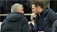 Tottenham 0-2 Chelsea: Ngày trò Lampard lấn át thầy Mourinho