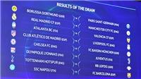 Vòng 1/8 Champions League mùa này: Cân bằng và khó đoán
