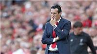 Arsenal đi xuống cùng… Emery