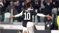 Juventus trở lại ngôi đầu Serie A: Thắng, thắng nữa, thắng mãi