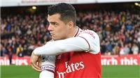 Arsenal: Granit Xhaka mất không chỉ một chiếc băng đội trưởng