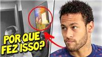 Neymar không nhìn mặt đồng đội làm em gái có thai