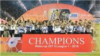 Cuối cùng, V-League 2019 về đích an toàn