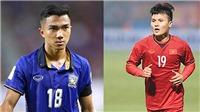Thái Lan vs Việt Nam: Chanathip và Quang Hải, ai sẽ hơn ai?