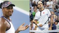 Mỹ mở rộng: Roger Federer và Venus Williams, hai nửa vui buồn