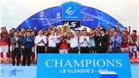 Chủ tịch CLB bóng đá Hồng Lĩnh Hà Tĩnh: 'Đá chuyên nghiệp nhưng bóng đá Hà Tĩnh phải có bản sắc riêng'