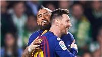 Arturo Vidal: Người bạn mới của Leo Messi