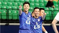 Thái Sơn Nam vào tứ kết giải châu Á với 3 trận toàn thắng